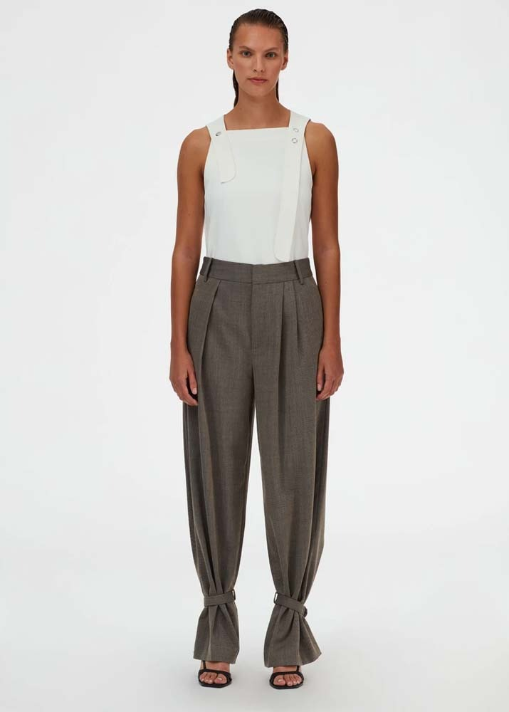 TIBI _ Luka Suiting Stella Pleat Pant