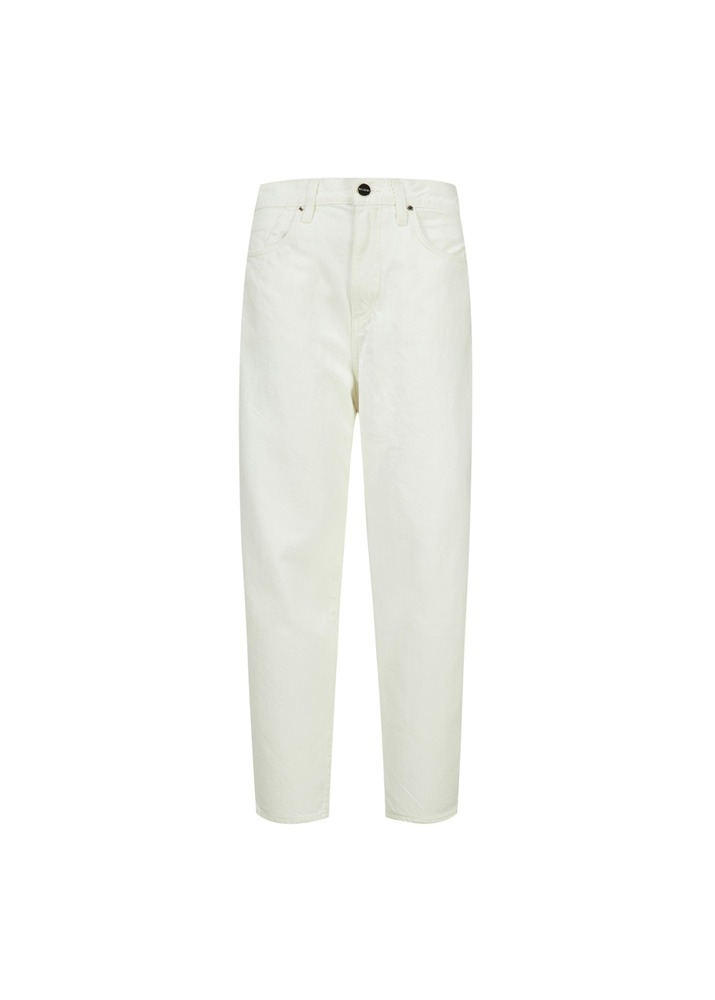 GOLDSIGN _ The Curved Jean In Pearl